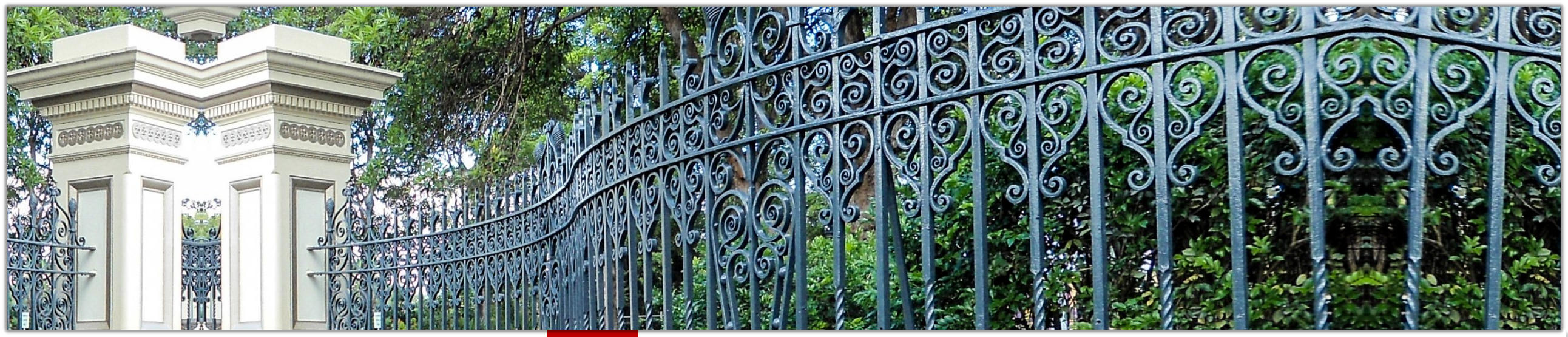Wrought Iron Curved Heritage Railing
